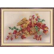 """Набор для вышивания крестом М.П. Студия """"Натюрморт с листьями"""""""