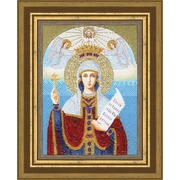 """Набор для вышивания бисером Золотое Руно """"Образ Святой Великомученицы Параскевы Пятницы"""""""