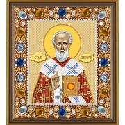 """Набор для вышивания бисером Nova sloboda """"Св. Григорий Богослов"""""""