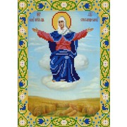 """Канва/ткань с нанесенным рисунком Конёк """"Богородица Спорительница Хлебов"""""""