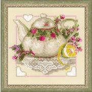"""Набор для вышивания крестом Риолис """"Чай с лимоном"""""""