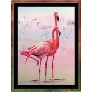 """Набор для вышивания крестом Риолис """"Фламинго"""""""