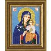 """Набор для вышивания бисером Золотое Руно """"Образ Божией Матери Неувядаемый цвет"""""""