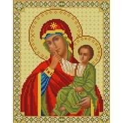 """Канва/ткань с нанесенным рисунком Конёк """"Богородица Отрада и Утешение"""""""