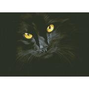 """Набор для выкладывания мозаики Паутинка """"Чёрная кошка"""""""