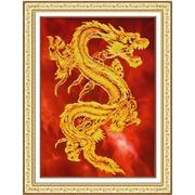 """Набор для вышивания бисером Паутинка """"Восточный дракон"""""""