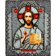 """Набор для вышивания хрустальными бусинами Образа в каменьях """"Господь Вседержитель"""""""