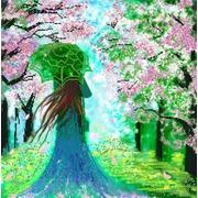 """Канва/ткань с нанесенным рисунком Конёк """"Леди Весна"""""""