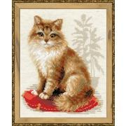 """Набор для вышивания крестом Риолис """"Кошка домашняя"""""""