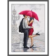 """Набор для вышивания крестом Овен """"В объятиях дождя"""""""