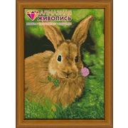 """Набор для выкладывания мозаики Алмазная живопись """"Кролик на обеде"""""""
