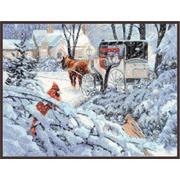 """Набор для вышивания крестом Палитра """"Краски зимы"""""""