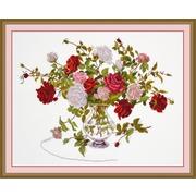 """Набор для вышивания крестом Овен """"Букет роз"""""""