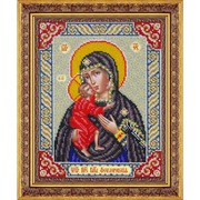 """Набор для вышивания бисером Паутинка """"Пресвятая Богородица Феодоровская"""""""