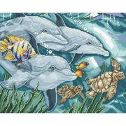 """Набор для выкладывания мозаики Паутинка """"Дельфины"""""""