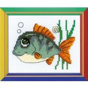 """Набор для вышивания крестом Риолис """"Рыбка с улыбкой"""""""
