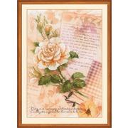 """Набор для вышивания крестом Риолис """"Письма о любви. Роза"""""""