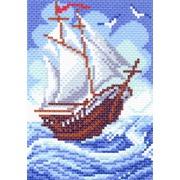 """Канва/ткань с нанесенным рисунком Матрёнин посад """"Кораблик"""""""