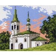 "Канва/ткань с нанесенным рисунком Матрёнин посад ""Церковь"""