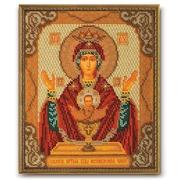 """Набор для вышивания бисером Радуга бисера (Кроше) """"Богородица Неупиваемая Чаша"""""""