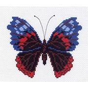 "Канва/ткань с нанесенным рисунком Матрёнин посад ""Бабочка 2"""