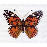 "Канва/ткань с нанесенным рисунком Матрёнин посад ""Бабочка 5"""