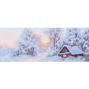 "Канва/ткань с нанесенным рисунком Матрёнин посад ""Морозное утро"""