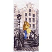 """Канва/ткань с нанесенным рисунком Матрёнин посад """"Амстердам (мостик)"""""""