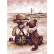 """Канва/ткань с нанесенным рисунком Матрёнин посад """"Всегда вместе"""""""