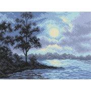 """Канва/ткань с нанесенным рисунком Матрёнин посад """"Ночной пейзаж"""""""