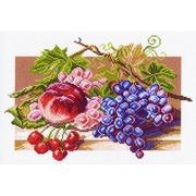 """Канва/ткань с нанесенным рисунком Матрёнин посад """"Солнечные плоды"""""""