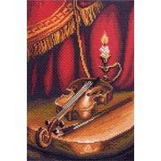 """Канва/ткань с нанесенным рисунком Матрёнин посад """"Скрипка"""""""