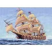 """Канва/ткань с нанесенным рисунком Матрёнин посад """"Морской странник"""""""