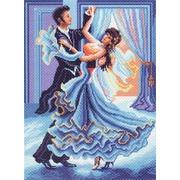 "Канва/ткань с нанесенным рисунком Матрёнин посад ""Танец"""
