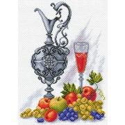 """Канва/ткань с нанесенным рисунком Матрёнин посад """"Молодое вино"""""""