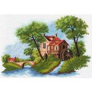 """Канва/ткань с нанесенным рисунком Матрёнин посад """"Голландский пейзаж"""""""