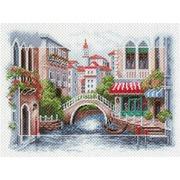 """Канва/ткань с нанесенным рисунком Матрёнин посад """"Венецианский мостик"""""""
