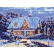 "Канва/ткань с нанесенным рисунком Матрёнин посад ""Новый год"""