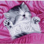 """Канва/ткань с нанесенным рисунком Матрёнин посад """"Спящий потенок"""""""