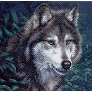 """Канва/ткань с нанесенным рисунком Матрёнин посад """"Волк"""""""