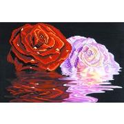 """Канва/ткань с нанесенным рисунком Матрёнин посад """"Две розы"""""""