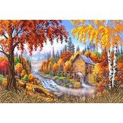 """Канва/ткань с нанесенным рисунком Матрёнин посад """"Осень"""""""