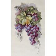 """Набор для вышивания крестом Марья искусница """"Синий виноград"""""""