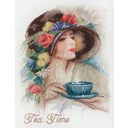 """Набор для вышивания крестом Марья искусница """"Время пить чай"""""""