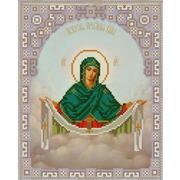 """Канва/ткань с нанесенным рисунком Конёк """"Богородица Покрова"""""""