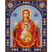 """Канва/ткань с нанесенным рисунком Конёк """"Богородица Знамения"""""""