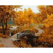 """Набор для раскрашивания Белоснежка """"Осенний парк"""""""