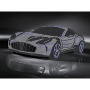 """Канва/ткань с нанесенным рисунком Глурия (Астрея) """"Aston Martin"""""""
