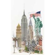 """Набор для вышивания крестом Thea Gouverneur """"Нью Йорк"""""""