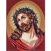 "Канва/ткань с нанесенным рисунком Gobelin-L ""Господь в терновом венце"""